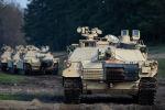 Танки Abrams армии США. Архивное фото