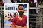 27 жаштагы ирандык грек-рим күрөшү боюнча спортчу Навид Афкари. Архив