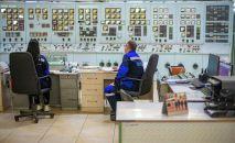 Сотрудники ОАО Электрические станции на рабочем месте. Архивное фото