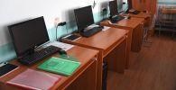 Компьютерный кабинет. Архивное фото