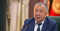 Премьер-министр Кубатбек Боронов Республикалык штабдын жыйыны учурунда
