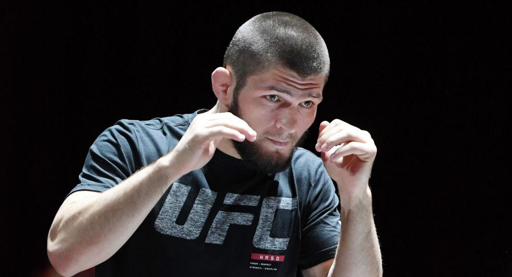 UFC мушкери Хабиб Нурмагомедов. Архив