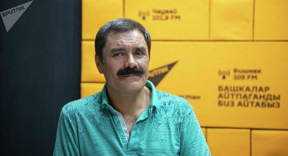 Директор общественного фонда Чистый Иссык-Куль Анвар Шамсутдинов