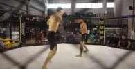Бой продлился недолго — уже через 13 секунд кыргызстанец ударом правой руки отправил соперника в глубокий нокаут.