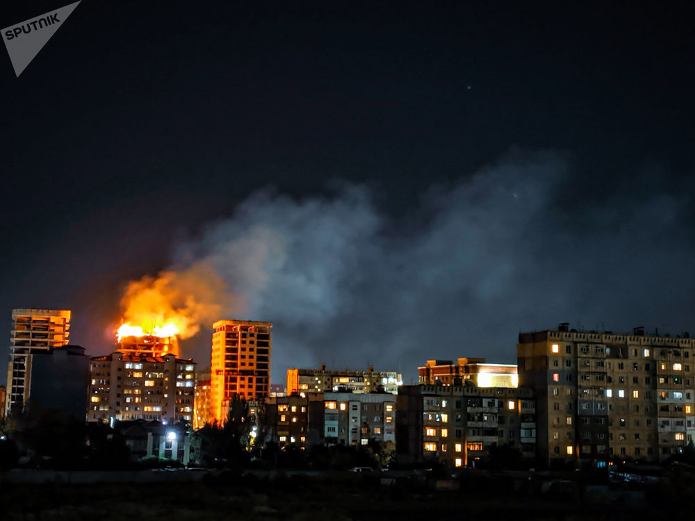 16 сентября на юго-западе Бишкека произошел крупный пожар