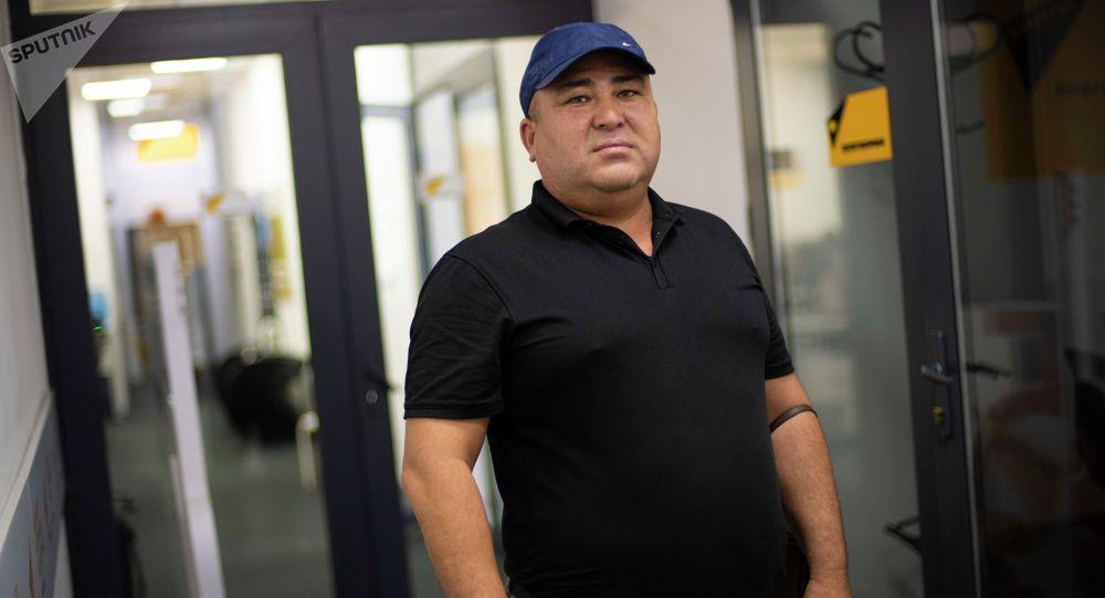 Улуттук кыргыз сүт өндүрүүчүлөр ассоциациясынын төрагасы Нурбек Жыргалбаев
