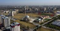 Вид на мечеть Cатух Борахан на территории университета КТУ Манас в микрорайоне Джал в Бишкеке. Архивное фото