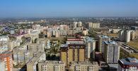 Вид на многоэтажные жилые дома в микрорайоне Джал. Архивное фото