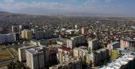 Район Арча-Бешика в Бишкеке. Архивное фото