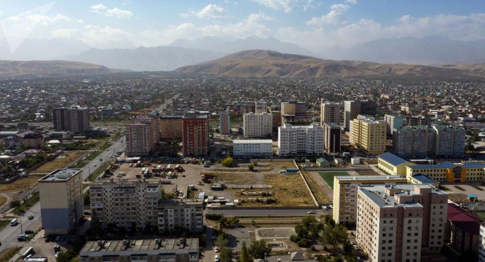Бишкектин Жал микрорайонуна асмандан көрүнүш. Архивдик сүрөт
