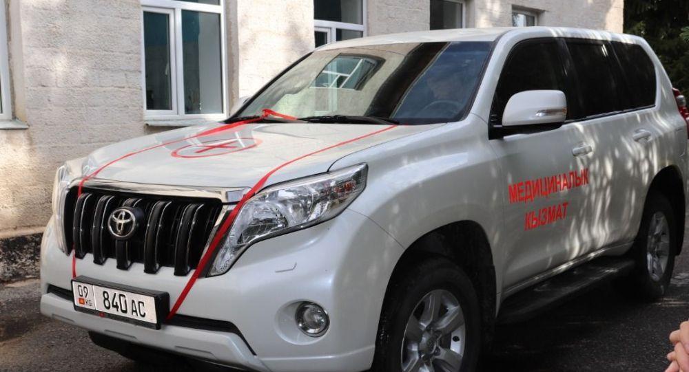 Каракольскому управлению Центра госсанэпиднадзора передали внедорожник Toyota Land Cruiser Prado
