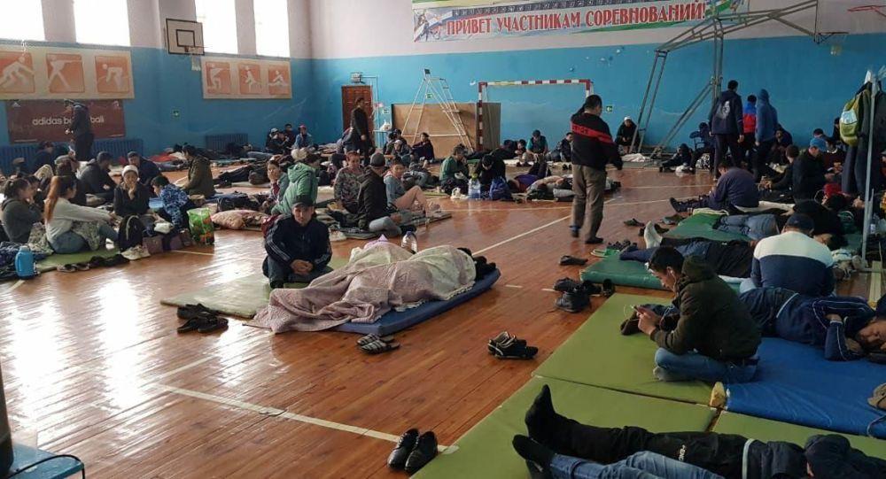 Башкыртстандын Куюргазинский районунда калган кыргыз мигранттары