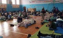 Кыргызстанцы застрявшие на территории Куюргазинского района Башкирии в России