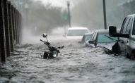 Затопленная улица. Архивное фото