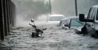 Последствия урагана в штате Флорида. США. Архивное фото