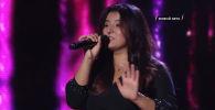 Кыргызстанка Карина Амринова выступила на музыкальном конкурсе Ты супер!. Девушке не удалось пройти в следующий тур, но она намерена дальше заниматься вокалом.