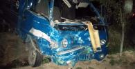 Бишкек — Ош унаа жолунда болгон жол кырсыгында өрт чыгып, беш адам жабыркады