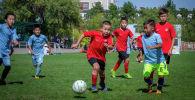 В Бишкеке состоялся турнир по футболу среди детей, посвященный 75-летию Победы в Великой Отечественной войне