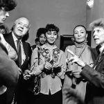 Чырайлуу Айтурган Темирова жана Жамал Сейдакматова канадалык кесиптештери менен, 1982-жыл
