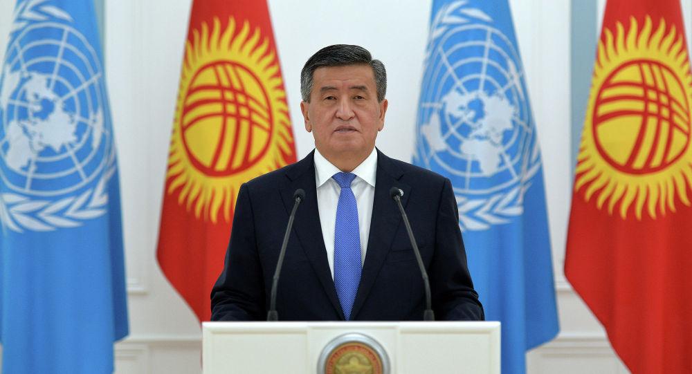 Президент Кыргызской Республики Сооронбай Жээнбеков