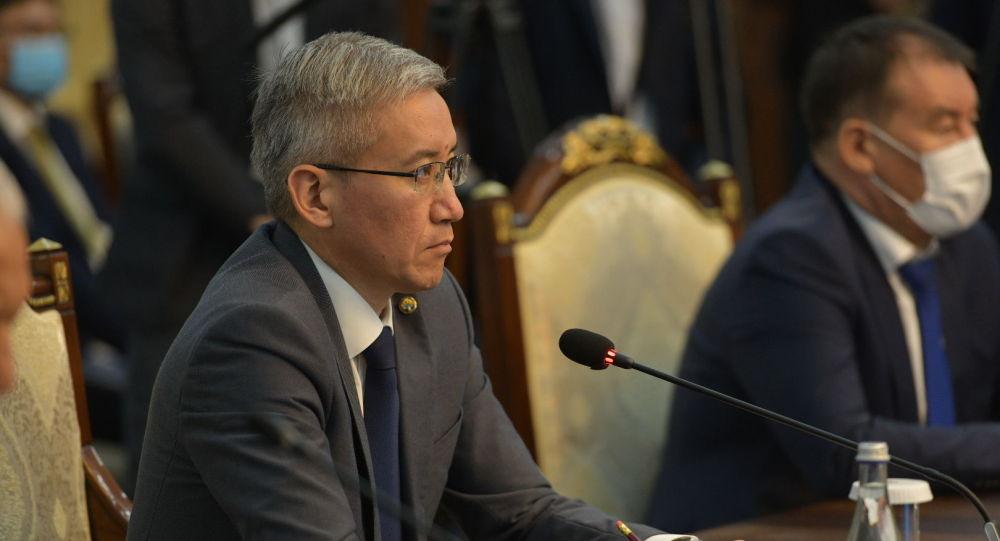 Вице-премьер министр КР Эркин Асрандиев. Архивное фото