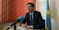 Председатель комитета контроля качества и безопасности товаров и услуг министерства здравоохранения Казахстана Тимур Султангазиев. Архивное фото
