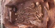 Археологи обнаружили нетронутые грабителями захоронения времен тагарской культуры, времен скифов в Аскизском районе в Хакасии