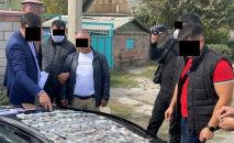 Задержание полковника милиции при сбыте наркотиков