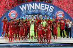 УЕФАнын суперкубогун жеңген Бавария футбол клубунун оюнчулары