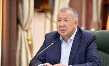 Бывший премьер-министр Кубатбек Боронов. Архивное фото