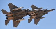 Усовершенствованные истребители F-15SA ВВС Саудовской Аравии. Архивное фото