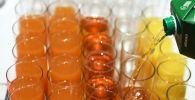 Дегустация соков. Архивное фото