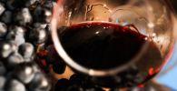 Виноградная лоза и вино. Архивное фото