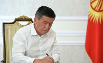 Президент Сооронбай Жээнбеков Биринчи радиого маек берди