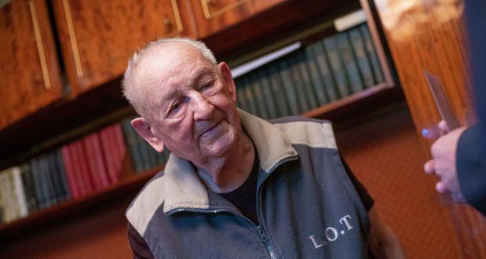 Ветеран Великой Отечественной войны Иван Николаевич Голиков, который отмечает 100 – летний юбилей