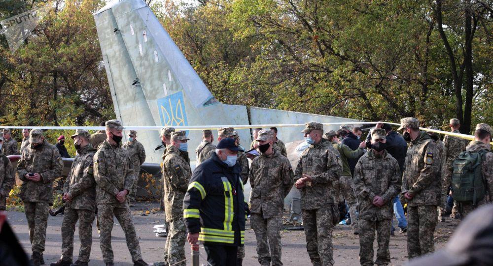 Украинадагы кулаган учак