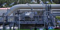 Наземный стыковочный пункт газопровода Северный поток-2 в Любмине. Архивное фото