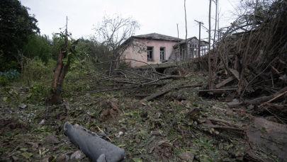 Карабахтагы Мартуни шаары чырдан кийинки абалы