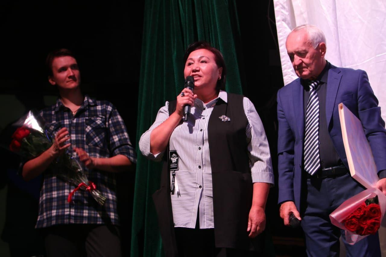 Основатель любительского театра Аян Айнаш Козубаева, , созданный мигрантами из Кыргызстана в Москве