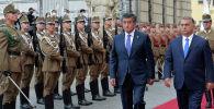 Президент Сооронбай Жээнбеков Венгриянын премьер-министри Виктор Орбан менен расмий жолугушту