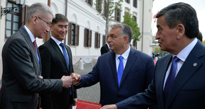 Во дворце Кармелита г. Будапешт состоялась церемония официальной встречи Президента Кыргызской Республики Сооронбая Жээнбекова с Премьер-министром Венгрии Виктором Орбаном. 29 сентября 2020 года