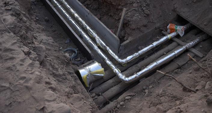 Ход строительства новой инфекционной больницы в Бишкеке