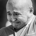 Участник турнира по армрестлингу Нурадил Раимбеков