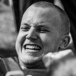 Участник турнира по армрестлингу Олег Пасько