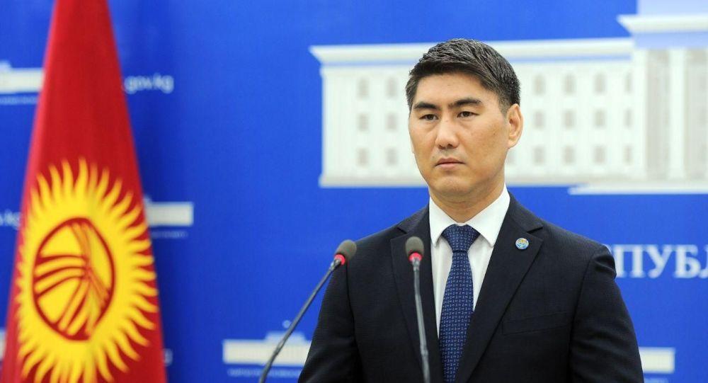 Кыргызстандын мурдагы тышкы иштер министри Чыңгыз Айдарбеков. Архив