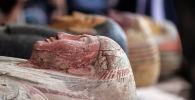 Саркофаги обнаруженные недалеко от египетского некрополя Саккара в Гизе