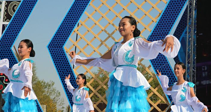 Концерт посвященный празднованию 3020 летия города Ош