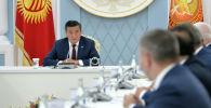 Президент Сооронбай Жээнбеков встретился с главами миссий международных наблюдателей