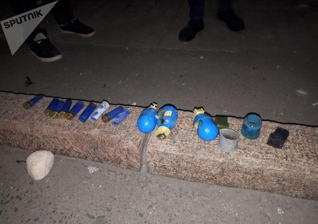 Митинг в Бишкеке после окончания парламентских выборов