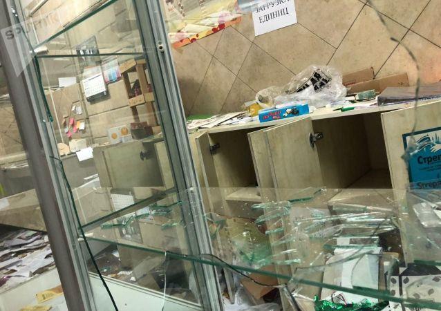 Ситуация внутри Белого дома после взятия митингующими, против результатов парламентских выборов